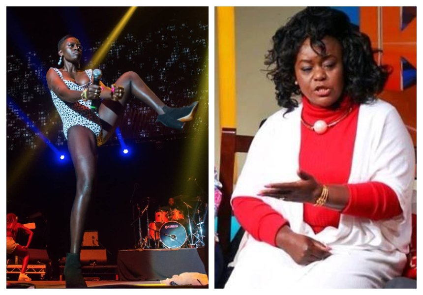 Millie Odhiambo: You condemn Akothee yet you askto be inboxed videos of woman you do not know having sex with a gym instructor
