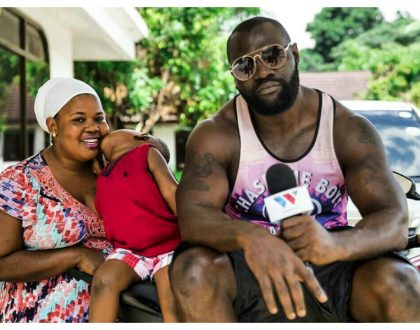 Mwarabu Fighter's wife speaks on claims Harmonize's girlfriend slept her husband
