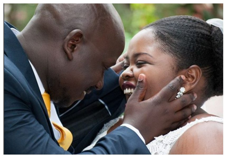 Issa a good month! Kiss FM's Lynda Nyangweso celebrates wedding anniversary and daughter's birthday
