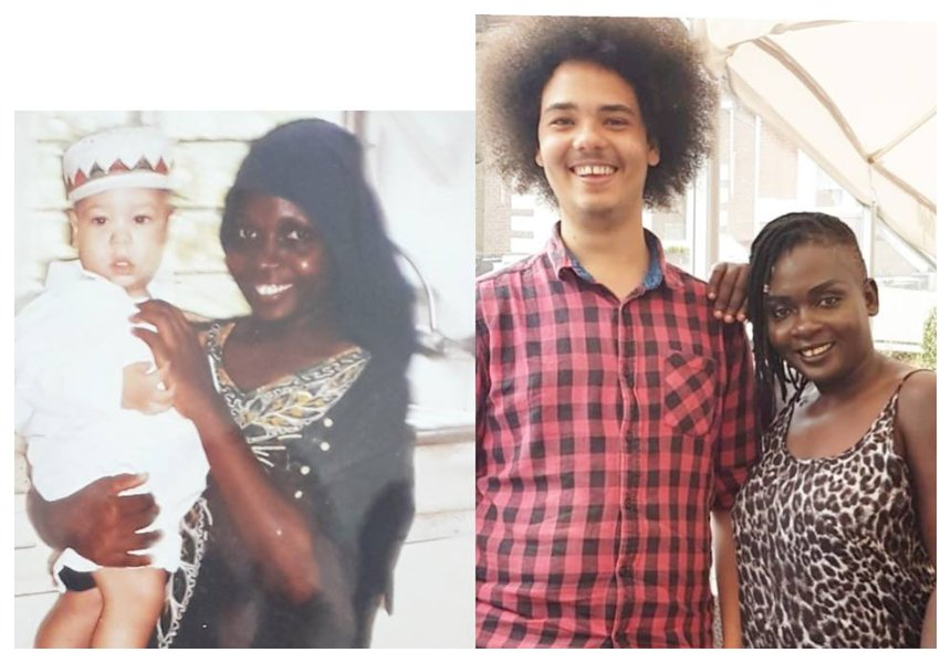 Nyota Ndogo finally meets young man she used to babysit while she was still a maid (Photos)