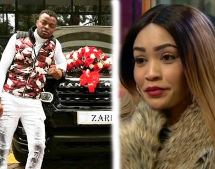 Zari accepts expensive gift from Diamond and leaves singer Ringtone vibrating with anger