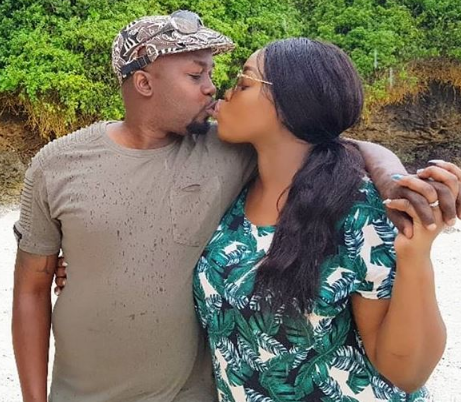 """Ladies stop ignoring your DM's that how I met my husband!"" Says Risper Faith"