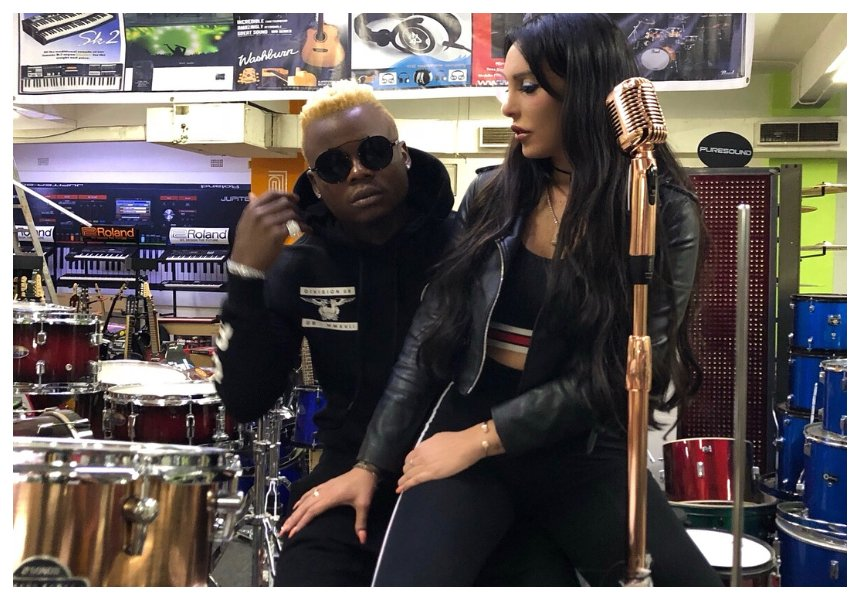 Harmonize proposes to Italian girlfriend Sarah Michelotti after the cheating drama (Photos)
