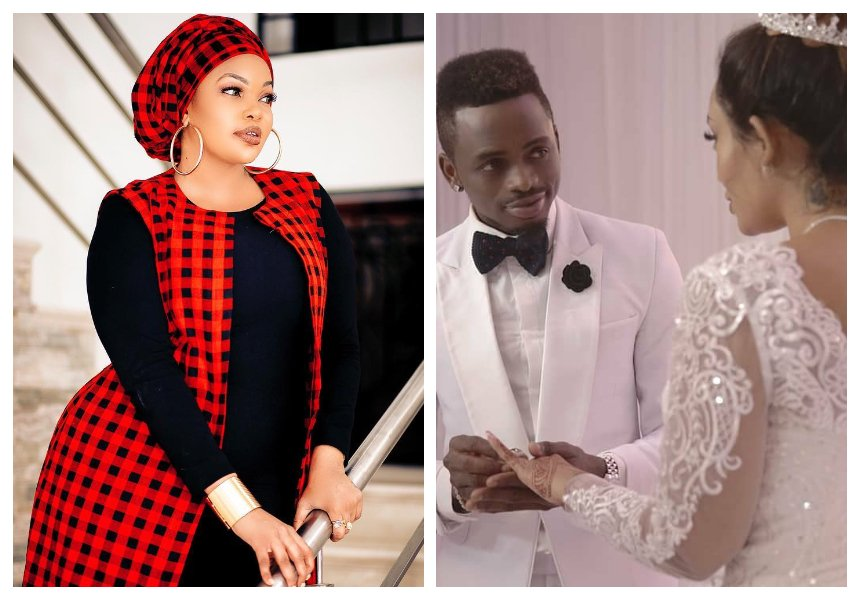 Wema Sepetu makes U-turn, now wishes Diamond and Zari's fake wedding could be real