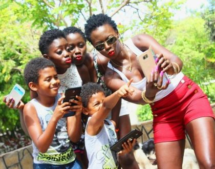 Akothee ignores her piling baby daddies in this year's Father's Day, sends this message