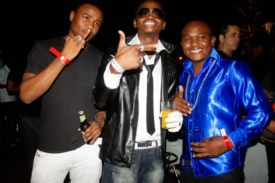 Alikiba, Diamond Platnumz and Marlaw during good times