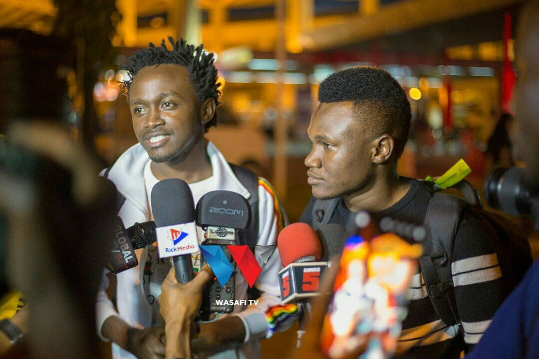Bahati and Mbosso