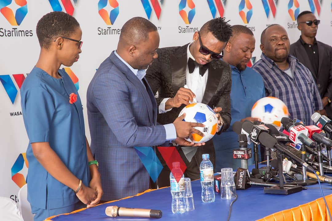 Diamond signs a deal with StarTimes