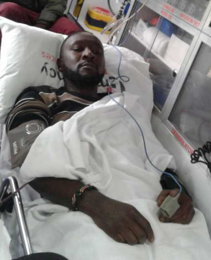 Time to go home! Singer Big Pin feeling much better after collapsing in office(photo)