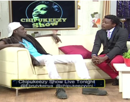 Chipukzeezy after Kenyans complained he's mocking guests on his show: I'm glad about the feedback. It means they are watching