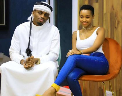 Kenyans to Huddah: We hope you came back pregnant after meeting Diamond