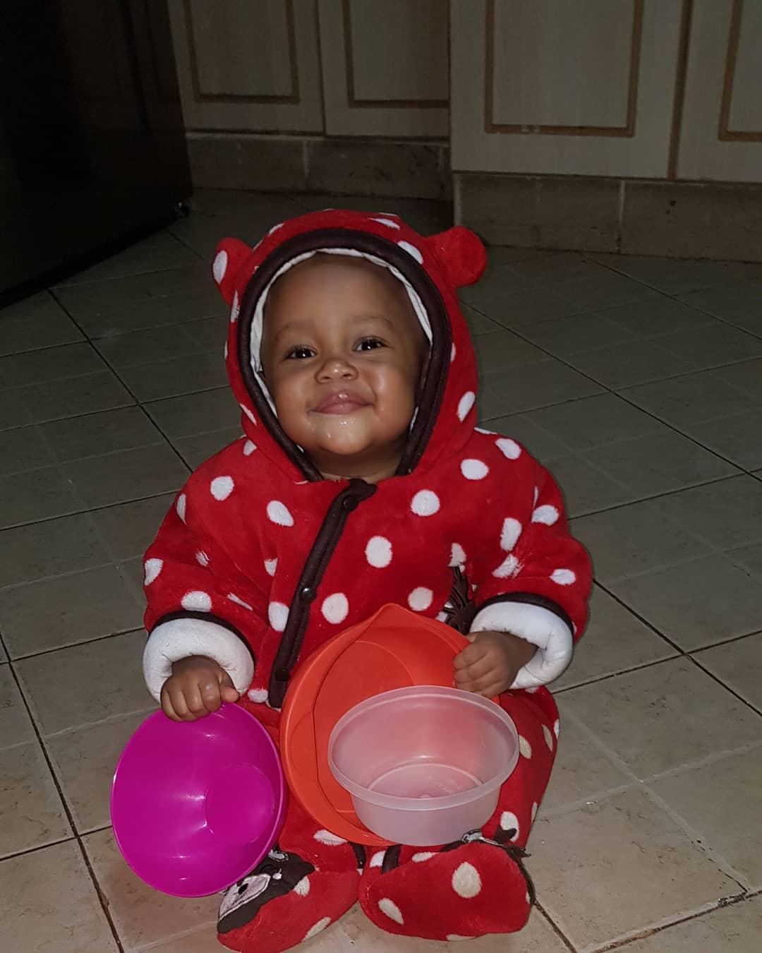 Isaac Mwaura's son
