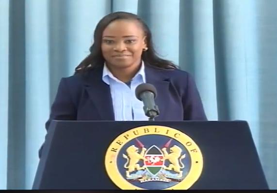 Kanze Reloaded!! Kenyans happy with Kanze Dena's first press briefing