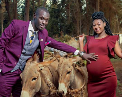 Awww!!! King Kaka introduces son to Kenyans with this lovely family photo shoot
