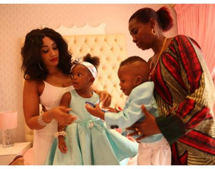 """When you marry a wife, you marry her for yourself not your mother!"" Zari Hassan taking shots at baby daddy?"