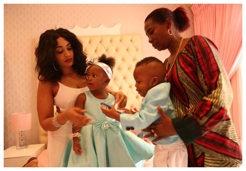 Diamond's mother finally explains why she doesn't post photos of Hamisa Mobetto's son