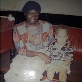 Nyota Ndogo with a young Malik