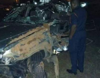 Popular gospel singer Papa Dennis survives grisly accident, thanks God