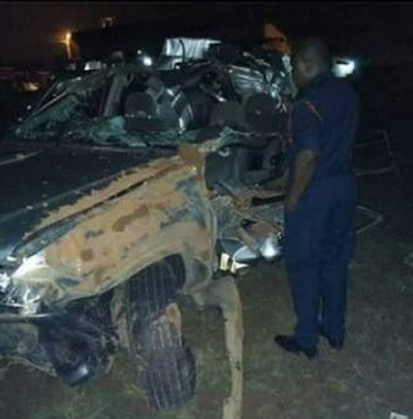 Popular gospel singer Papa Dennis survives grisly accident, thanks God
