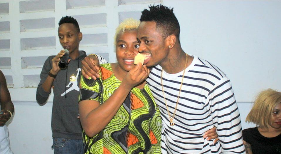 Mwajuma Abdul aka Queen Darleen with her brother Naseeb Abdul Juma aka Diamond Platnumz