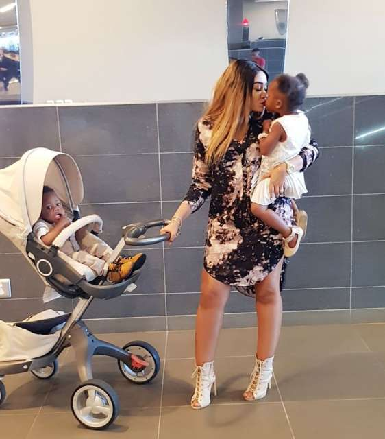 Diamond's daughter goes down with a fever but here is why Zari's not a worried mum