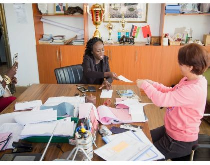 Akothee's daughter takes up new role at her mother's company after being given 40% stake (Photos)