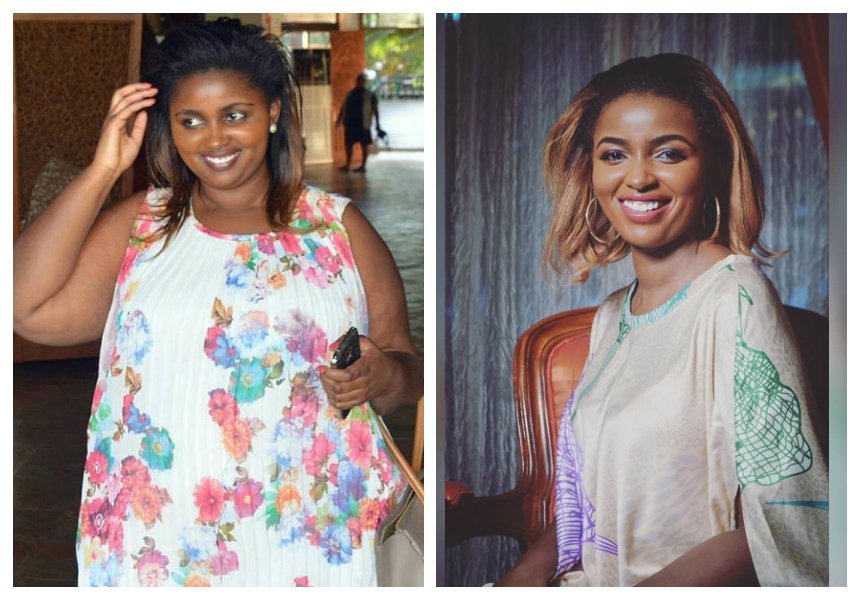 Anerlisa Muigai: So far I have lost a total of 52 kilos
