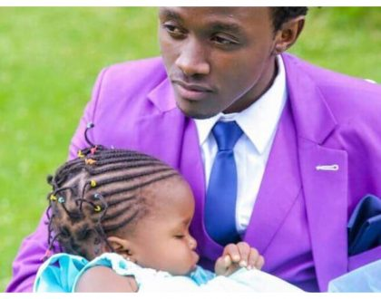 Bahati's daughter falls sick again