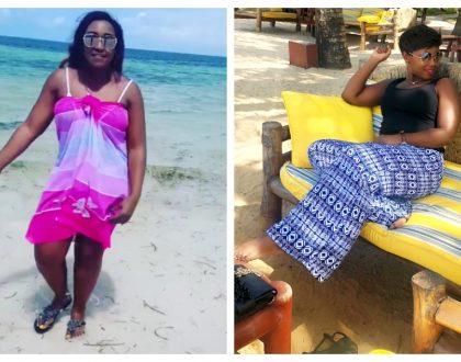 Betty Kyallo and Catherine Kamau slay in bikinis at the beach in Mombasa (Photos)