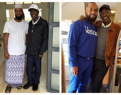 Old and recent photos Chris Kirubi posed with Joho show how the billionaire is recovering impressively