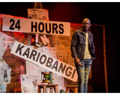 Churchill Show's Eddie Butita sets new standards in comedy