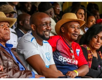 Esther Passaris explains viral photo that shows her ogling SportPesa CEO Ronald Karauri