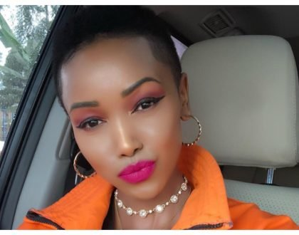 """Fikra zenu kutiana tuu"" Huddah Monroe fires at a critic who called her out after she commented on Diamond's post"