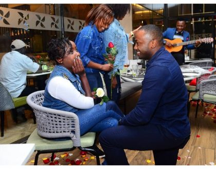 Dennis Itumbi reacts after Jacque Maribe accepts marriage proposal from another man