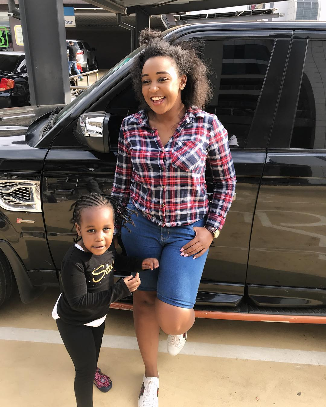 Betty Kyallo and her daughter Ivanna