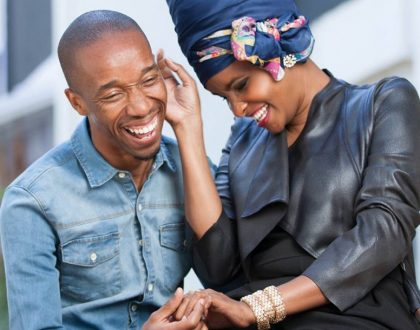 Eric Omondi shows Kenyans how Lulu Hassan and hubby will be anchoring news and it's just too funny