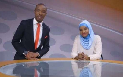 What Lulu Hassan told her husband after he came to work with her at Citizen TV