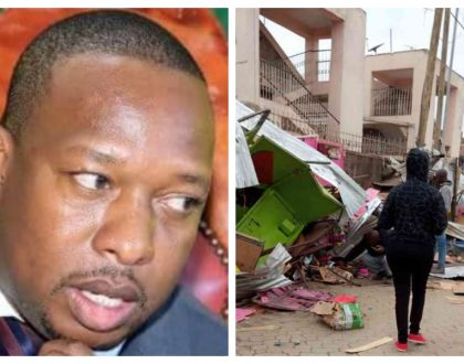 Prophetic message! City preacher warns Mike Sonko demolition of kiosks in Nairobi will come back to bite him