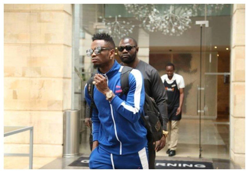 """""""Nilisimamishwa kazi tangu mwezi wa pili mwaka huu"""" Diamond's bodyguard comes clean about being sacked"""