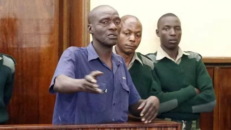 Nakuru cat meat seller James Kimani in court