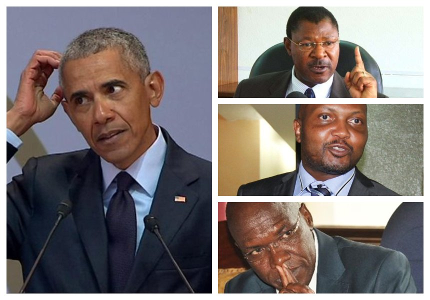 Obama arrives in Kenya for two-day visit, meets Uhuru