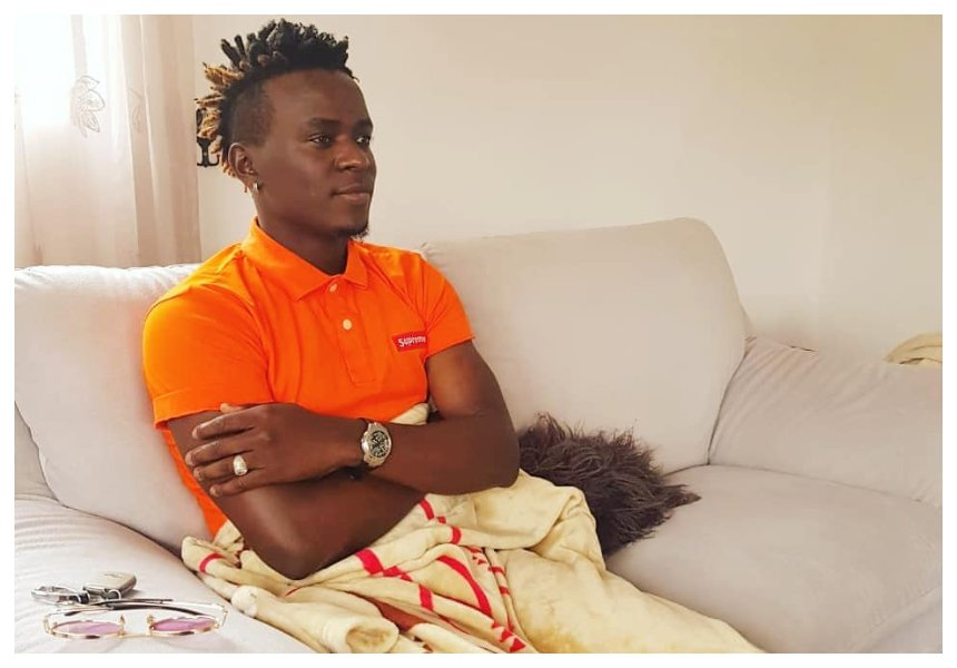 Willy Paul loses his cool and gives irate critic a tongue lashing