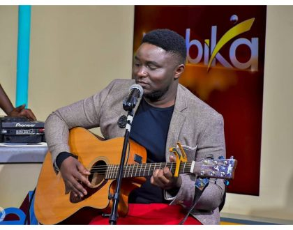 """I wrote new song and she only took 2 days to master it"" Pitson speaks of Gracious Amani - girl who make headlines with rendition of Alicia Keys' song"