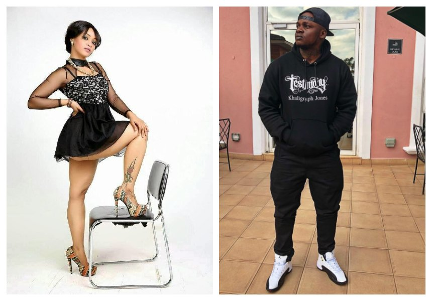 Alikiba's exSabby Angel addresses claims she relocated to Kenya to be with Khaligraph Jones