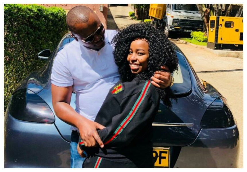 Saumu Mbuvi in a violent relationship? Unnerving message gives a telltale