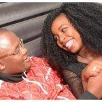 Saumu Mbuvi and fiancee 150x150 - Photos from Saumu Mbuvi's lit birthday party thrown by her wealthy boyfriend