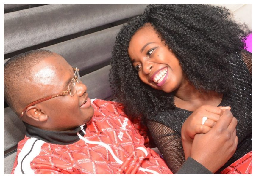 """""""I met him when I was traveling to US"""" Saumu Mbuvi sets the record straight about her fiancé afterhusband-snatching claims"""