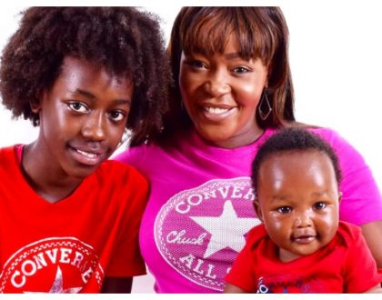 Terryanne Chebet forking out Kes 726,600 per term to educate her daughter at one of best international schools in Kenya