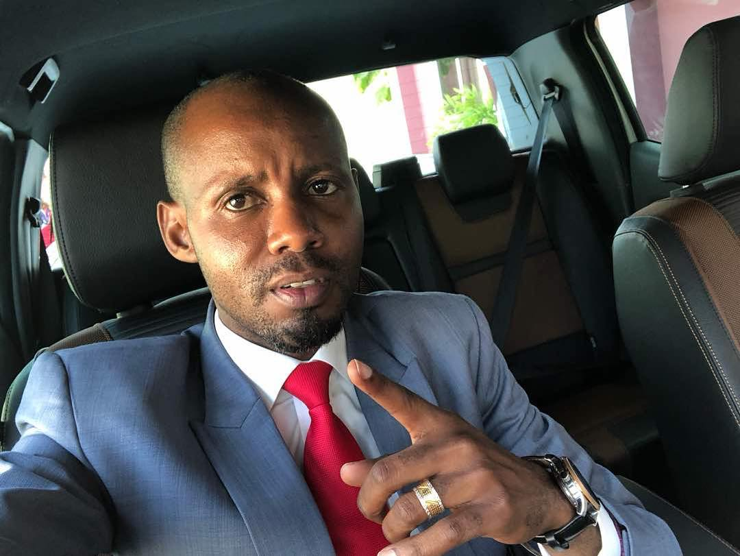 Wema's lawyerAlberto Msando