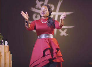 "Watch! Amani officially joins gospels industry with her new song called ""Jina Lake Yesu"""